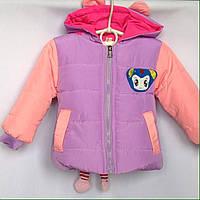 Куртка детская демисезонная оптом 1-4 года, фото 1