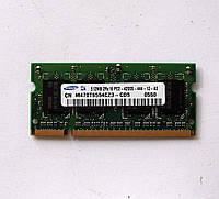 258 Память SO-DIMM 512 MB DDR2-533 PC2-4200 Samsung для ноутбуков