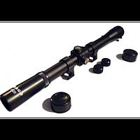 Прицел оптический Tasco 4х20. Оптический прибор для оружия.