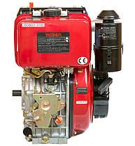 Двигатель дизельный Weima WM186FB (Вал шлицы 25 мм), фото 3