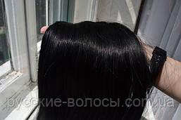 волос наращивания срез. Натуральные славянские волосы для наращивания стандарт - качество недорого черный, 80