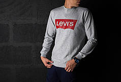 Мужской свитшот / кофта в стиле Levi's (L, XL размеры)