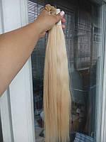 волос наращивания срез. Натуральные славянские волосы для наращивания стандарт - качество недорого блонд натуральный, 100