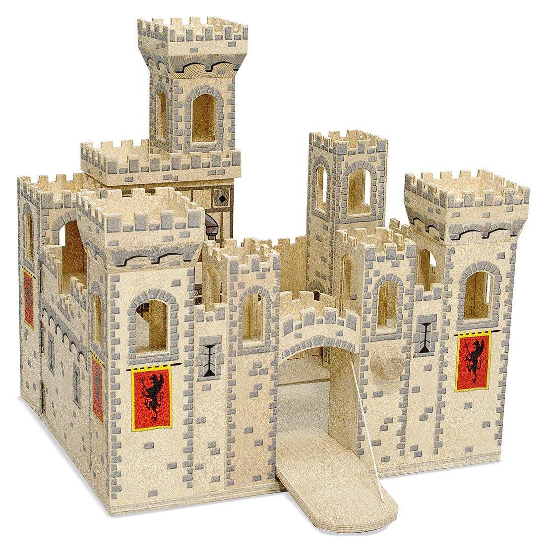 Деревянный рыцарский замок Melissa&Doug (MD11329)