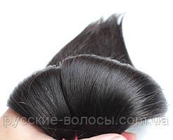 волос наращивания срез. Натуральные славянские волосы для наращивания стандарт - качество недорого натуральный черный, 65