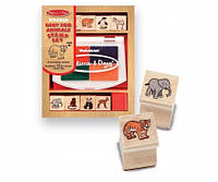 Штампы печати Melissa&Doug Малыши зоопарка (MD1638)