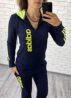 Костюм спортивный женский из двунитки Adidas P7402