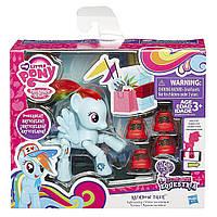 """Фигурка пони Рейнбоу Деш + обувь """"Исследуй Эквестрию""""- Rainbow Dash, My Little Pon, Hasbro"""