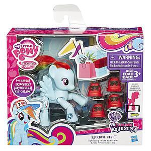 "Фигурка пони Рейнбоу Деш + обувь ""Исследуй Эквестрию""- Rainbow Dash, My Little Pony, Hasbro"