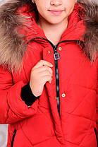 Зимнее пальто для девочек «Вика-дочка», фото 2