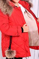 Зимнее пальто для девочек «Вика-дочка», фото 3