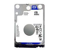 Жесткий диск для ноутбука 1Tb Western Digital Blue, SATA3, 128Mb, 5400 rpm (WD10SPZX)