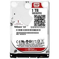 Жесткий диск для ноутбука 1Tb Western Digital Red, SATA3, 16Mb, 5400 rpm (WD10JFCX)