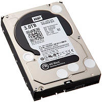 Жесткий диск для компьютера 3Tb Western Digital Black, SATA3, 64Mb, 7200 rpm (WD3003FZEX)