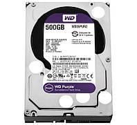 Жесткий диск для компьютера 500Gb Western Digital Purple, SATA3, 64Mb, 5400 rpm (WD05PURZ)