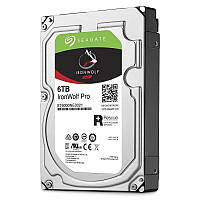 Жесткий диск для компьютера 6Tb Seagate IronWolf Pro, SATA3, 256Mb, 7200 rpm (ST6000NE0021)