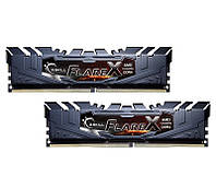 Оперативная память для компьютера 8Gb x 2 (16Gb Kit) DDR4, 2400 MHz, G.Skill Flare X (AMD Ryzen Edition), 15-15-15-39, 1.2V, с радиатором