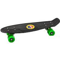 Penny Board Classic (ЧЕРНЫЙ-ЗЕЛЕНЫЙ)