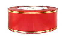 Флористична стрічка червона (5см х 50ярдов)