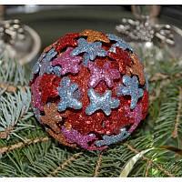 """Набор Новогодних шаров """"Человечки"""" 3d"""