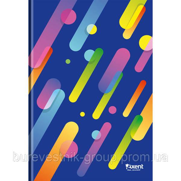 "Книга записная Axent ""Colour Rain"", А4, картонная обложка, 96 л. (8422-302-A)"