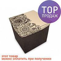 Короб складной многофункциональный с емкостью для хранения Цветы / аксессуары для дома
