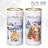 Тубус  «Дед Мороз и Снегурочка»