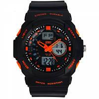 Часы Skmei 0955 Black-Orange BOX