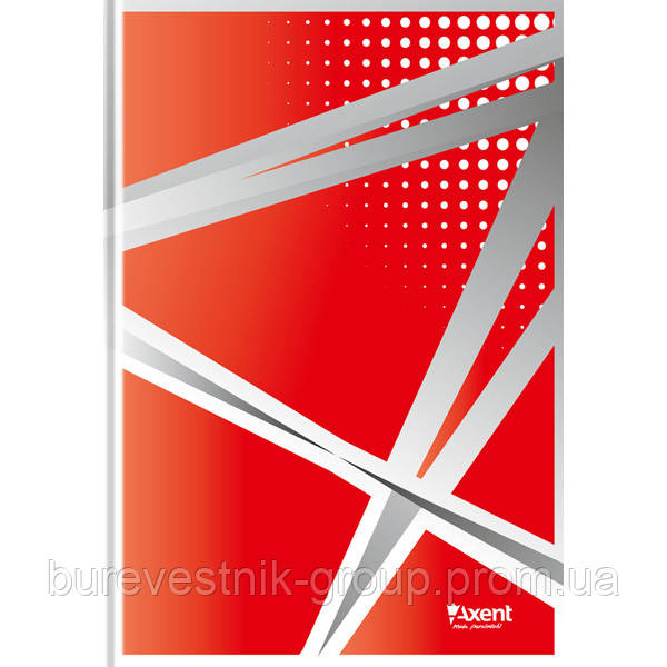 """Книга записная Axent """"Office"""", А4, картонная обложка, 96 л (8422-406-A)"""