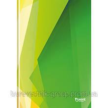 """Книга записная Axent """"Polygon"""", А4, картонная обложка, 96 л (8422-204-A)"""