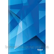 """Книга записная Axent """"Polygon"""", А4, картонная обложка, 96 л (8422-202-A)"""