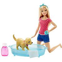 """Barbie Набор с куклой Барби """"Веселое купание щенка""""(Barbie Splish Splash Pup Playset)"""