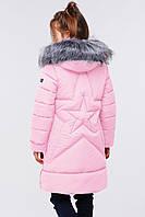 Зимнее детское пальто для девочки Nui very, фото 1