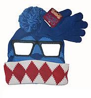 Шапка и перчатки детские  для мальчика