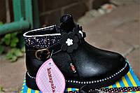 Детская демисезонная обувь для девочек разм 27,28,29,30