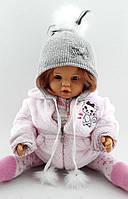 Тёплая детская и подростковая шапка 50-54р