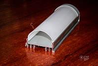 Алюминиевый профиль светодиодный  накладной ПС4-2