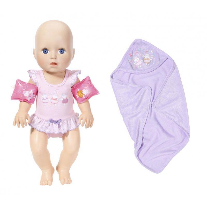 Пупс Вчимося плавати 46 см Zapf Creation Baby Annabell 700051