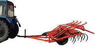 Культиватор прицепной для сплошной обработки почвы КПС-4,0. Культиватор причепний для суцільного обробітку КПС