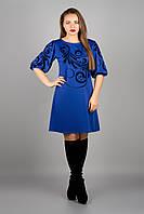 Платье Каролина электрик р.46-52