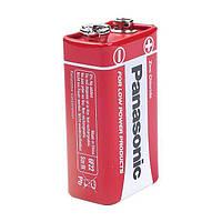 Крона солевая (6F22), Panasonic Red Zinc, 1 шт, 9V, Blister (6F22RZ/1BP)