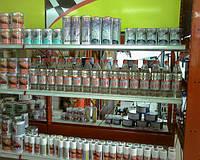 Растворитель 650 на полках в магазине у наших клиентов.