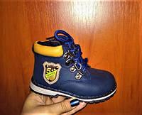 Детская демисезонная обувь  для мальчиков  23