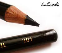 Карандаш для глаз (черный) LaCordi  201