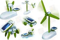 Обучающий конструктор на солнечной батарее 6 в 1