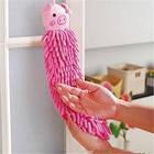 Детское полотенце-игрушка из микрофибры, свинка