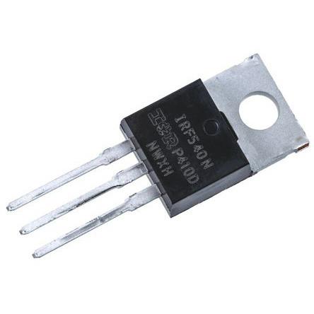 Транзистор IRF540NPBF, N-канал 100В 33А