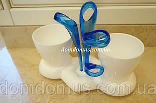 Підставка для зубних щіток і пасти Titiz Plastik