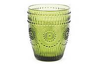 "Разноцветные модные стаканы ""Royal"",зеленые, набор 6 шт"