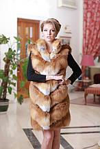 Жилет из лисы  Fox  fur vest